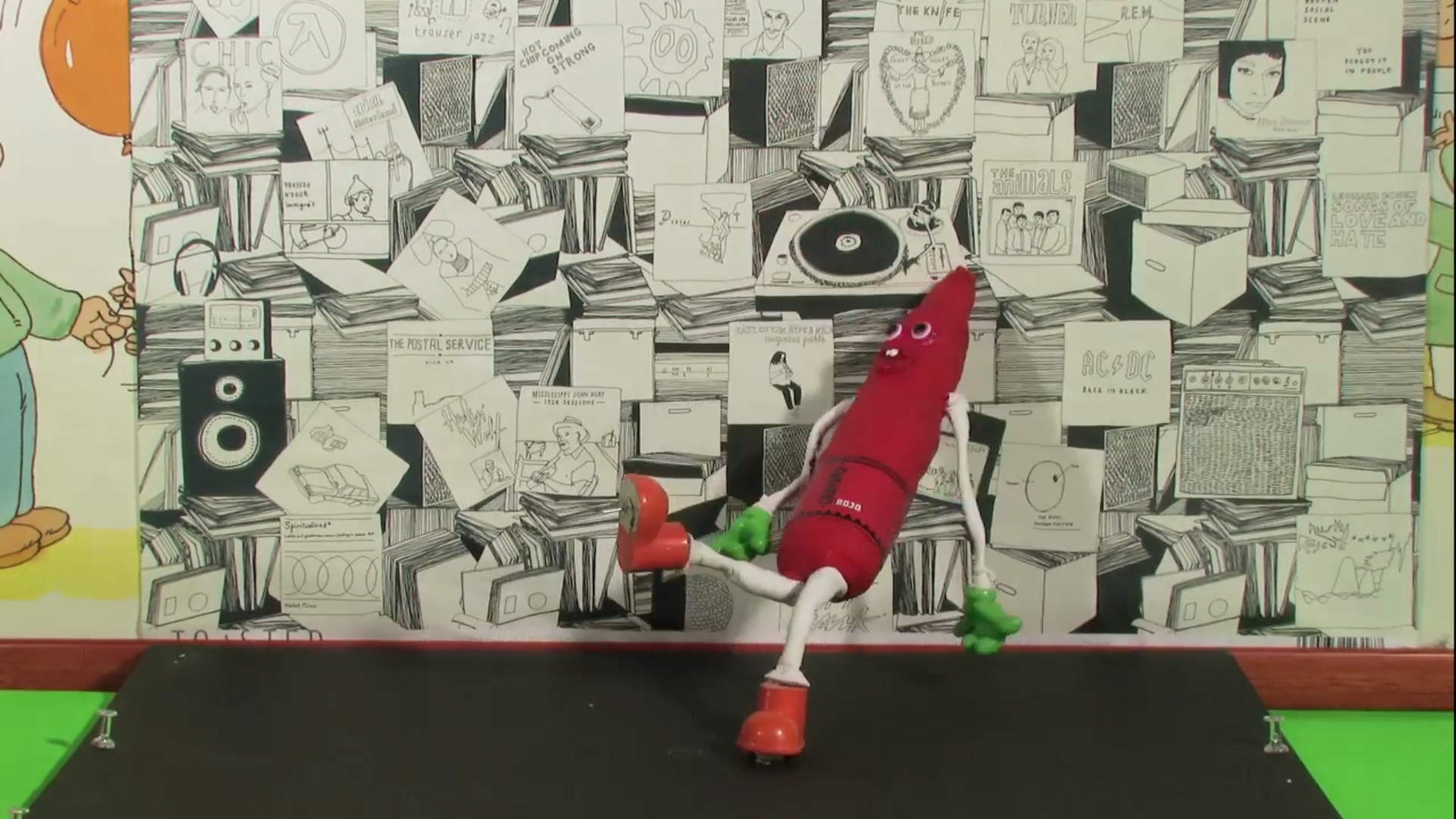 Crayones (Making of)