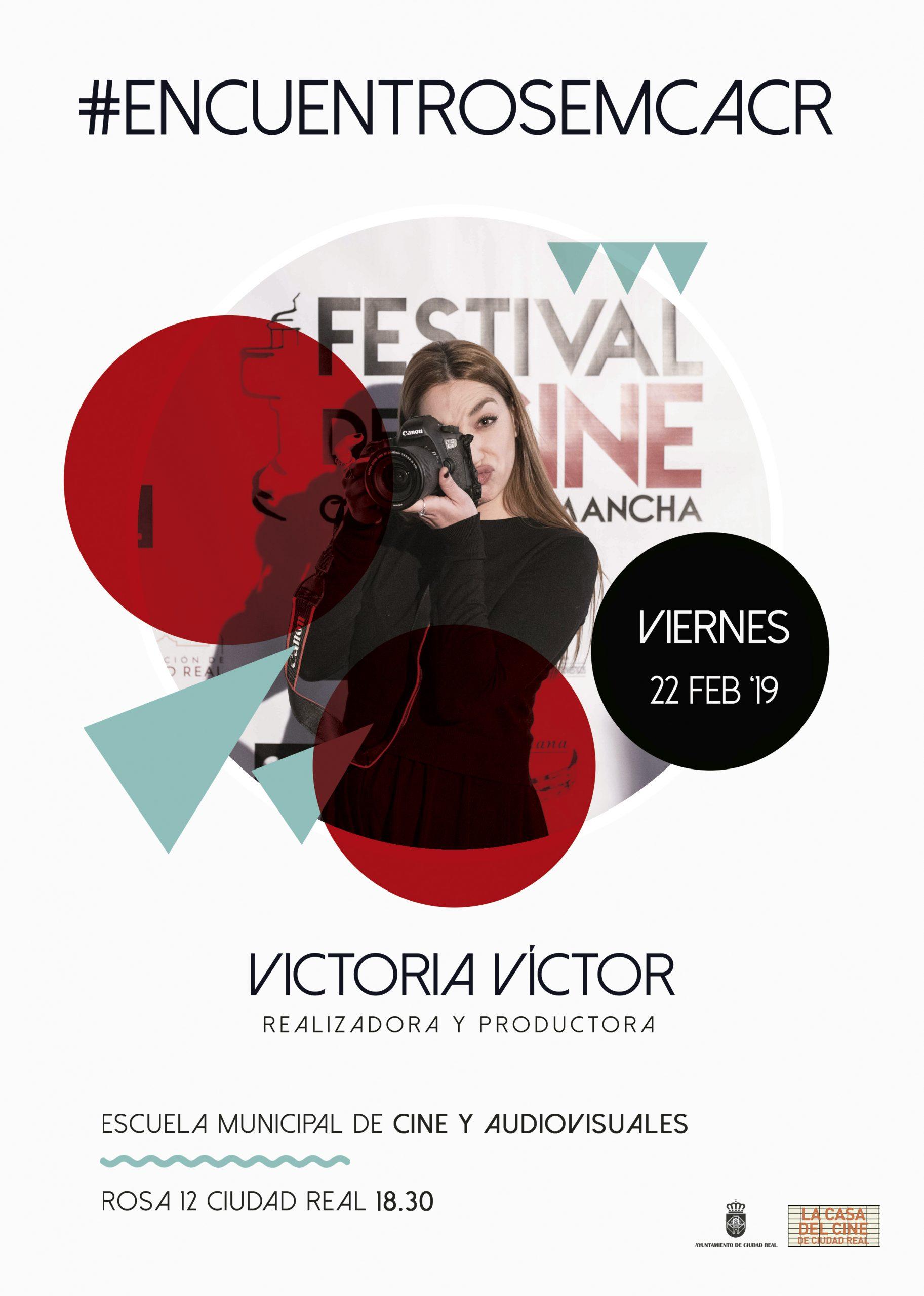 #EncuentrosEMCACR con Victoria Víctor