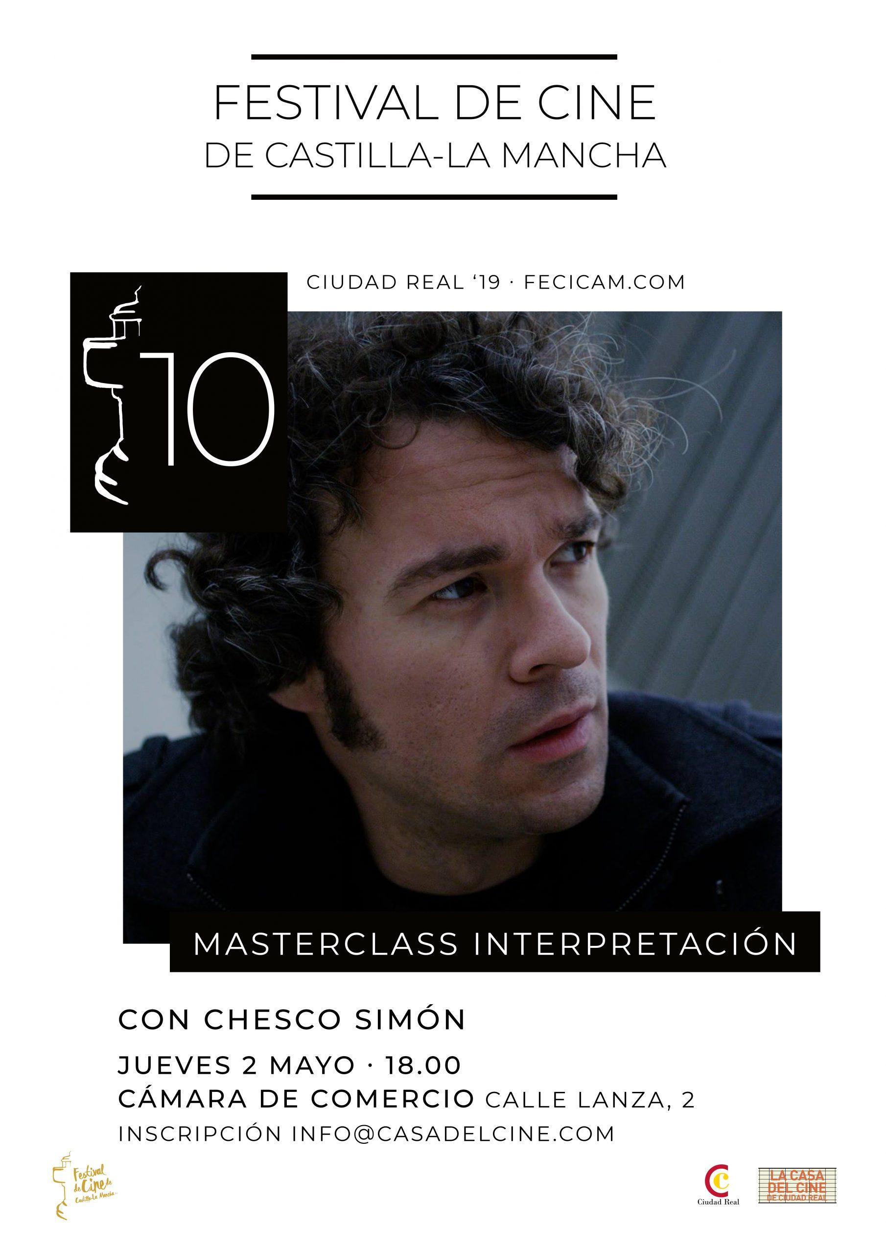 Masterclass de Interpretación con Chesco Simón