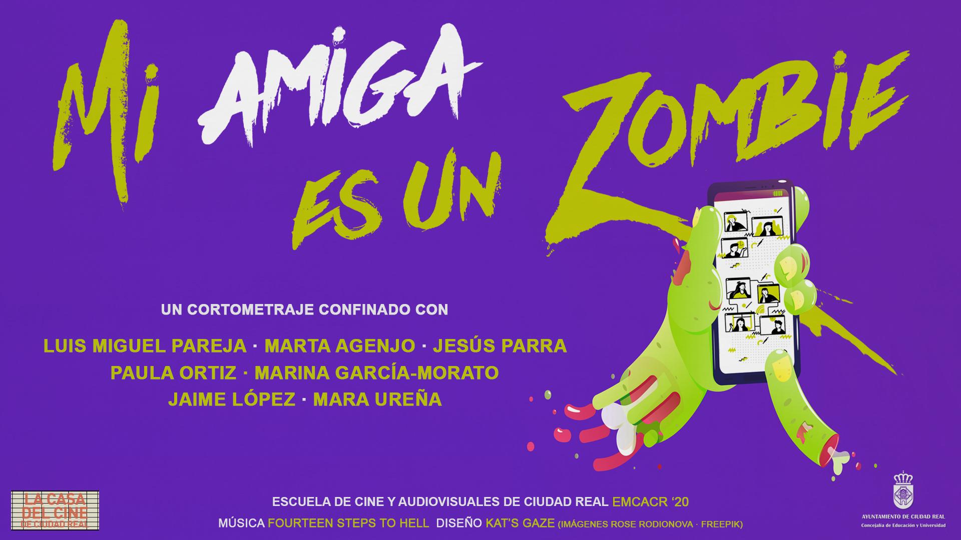 Mi amiga es un zombie || Proyectos Confinados #EMCACR '19-20