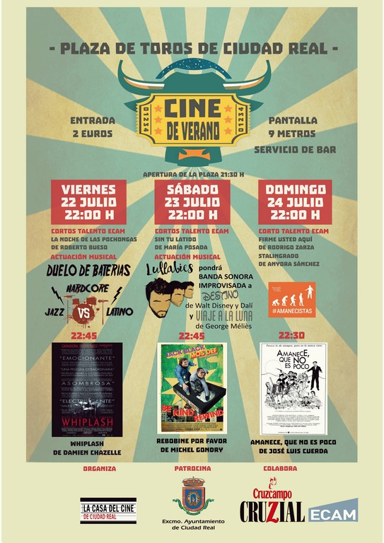 El cine en tu plaza
