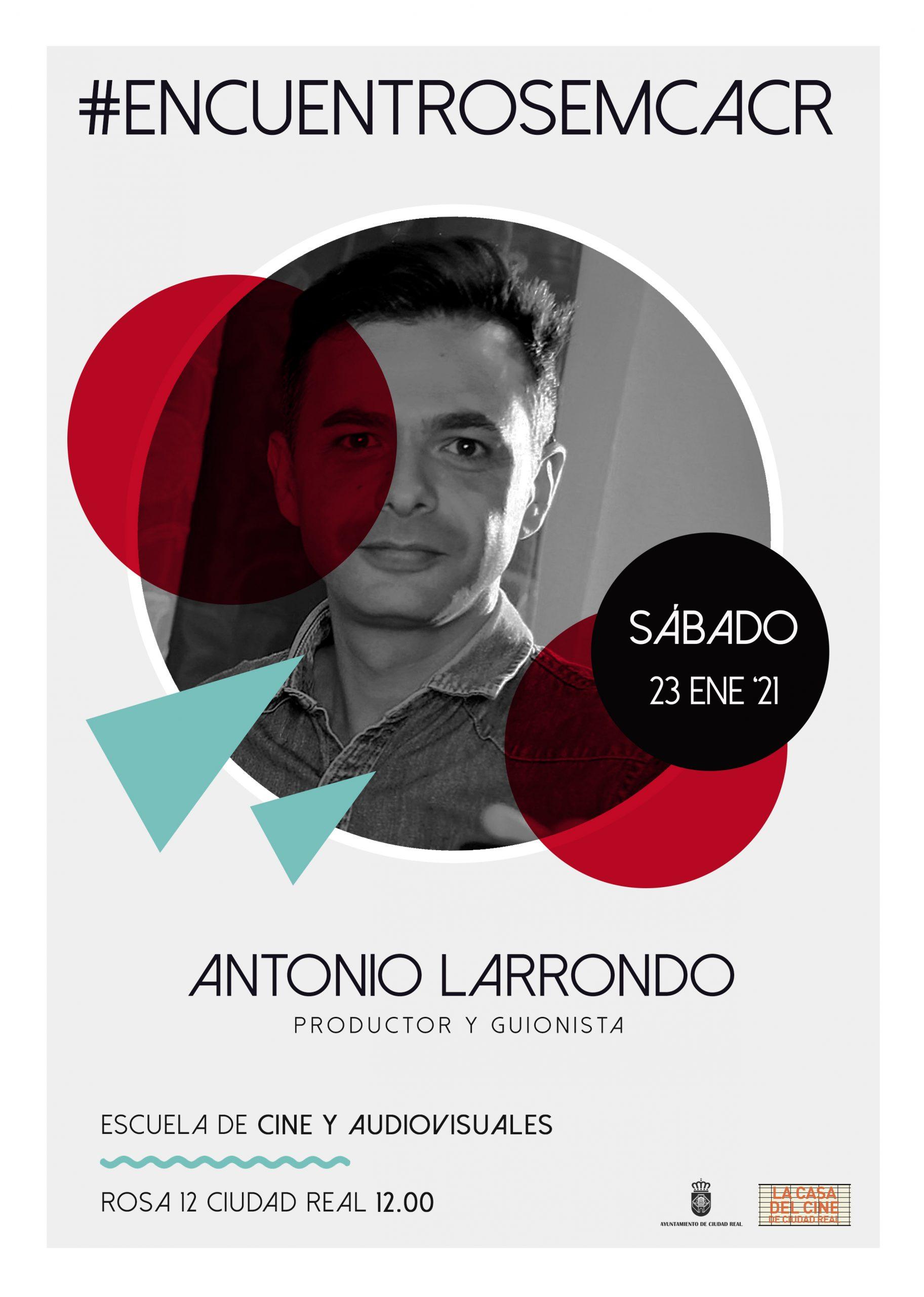 #EncuentrosEMCACR con Antonio Larrondo