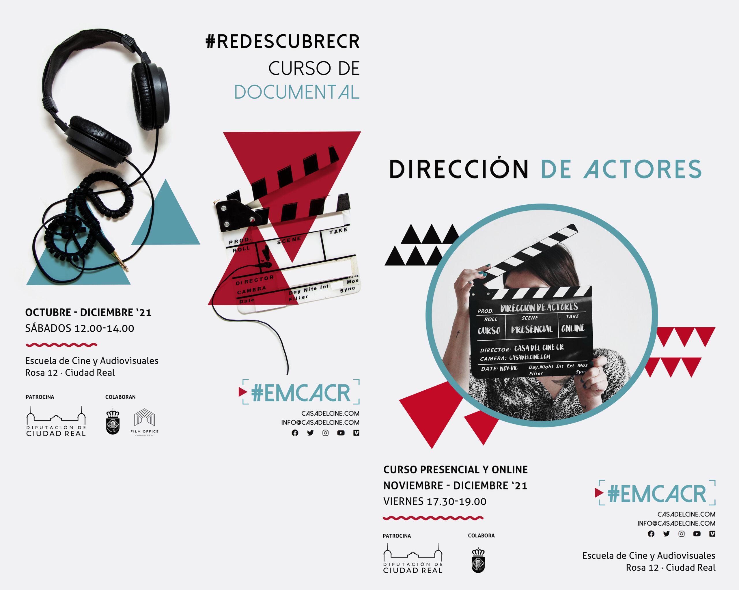 Nuevos Cursos ~ Documental y Dirección de Actores